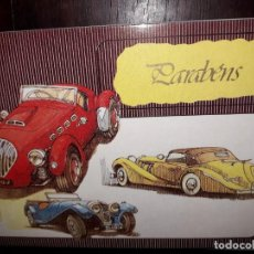 Postales: Nº 35854 POSTAL PORTUGAL COCHES PARABENS. Lote 194344288