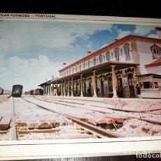 Postales: Nº 35860 POSTAL PORTUGAL VILAR FORMOSO ESTACION DE TREN. Lote 194344932