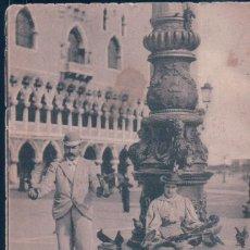 Postales: POSTAL VENEZIA - PICCIONI DI PIAZZA SAN MARCO - CIRCULADA. Lote 194390056