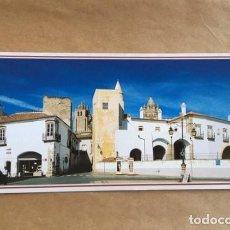 Postales: PORTUGAL ÉVORA. PORTAS DE MOURA E TORRES DA SÉ. 1996 22 X 11. Lote 194512775