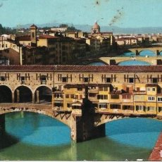 Postales: == P1787 - POSTAL - FLORENCIA - EL PUENTE VIEJO. Lote 194519318