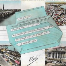 Postales: == P1796 - POSTAL - BORDEAUX - VARIA VISTAS. Lote 194519500