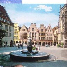 Postales: POSTAL MUNSTER I. WESTF LAMBERTUSBRUNNEN KRUGER 993/20. Lote 194523768