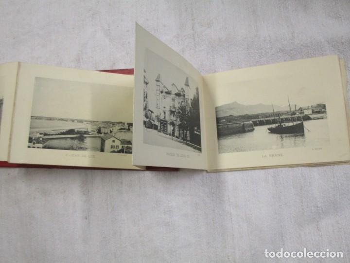 Postales: POSTALES FRANCIA - BAYONNE BIARRITZ SAN SEBASTIAN - BLOCK 15X12CM. 24 PLANCHAS, HACIA 1900 + INFO - Foto 4 - 194527497
