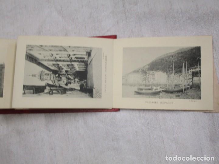 Postales: POSTALES FRANCIA - BAYONNE BIARRITZ SAN SEBASTIAN - BLOCK 15X12CM. 24 PLANCHAS, HACIA 1900 + INFO - Foto 5 - 194527497
