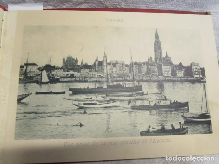 Postales: BELGICA POSTALES BLOCK - ANVERS OSTENDE BLANKENBERGHE 23X15CM. 12 PLANCHAS, HACIA 1900 +INFO - Foto 3 - 194529755