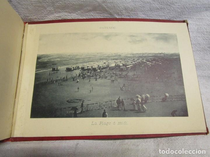 Postales: BELGICA POSTALES BLOCK - ANVERS OSTENDE BLANKENBERGHE 23X15CM. 12 PLANCHAS, HACIA 1900 +INFO - Foto 4 - 194529755