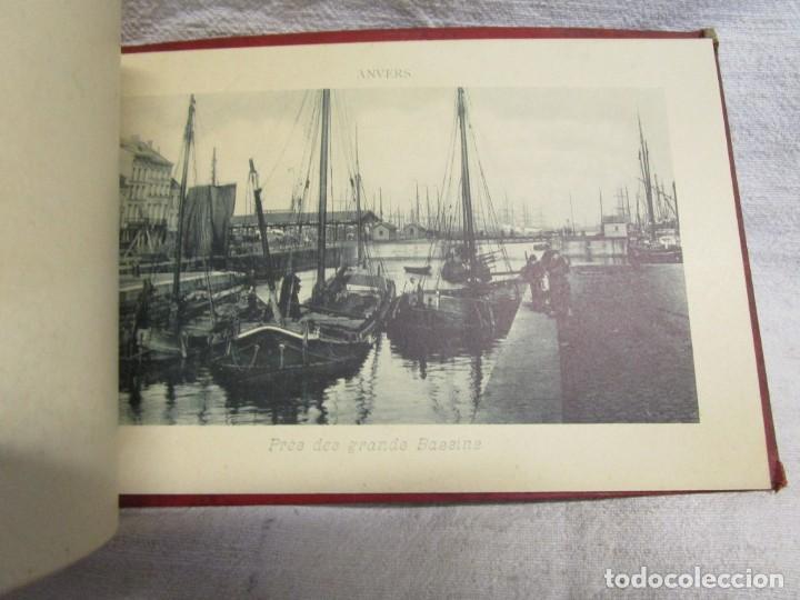 Postales: BELGICA POSTALES BLOCK - ANVERS OSTENDE BLANKENBERGHE 23X15CM. 12 PLANCHAS, HACIA 1900 +INFO - Foto 5 - 194529755
