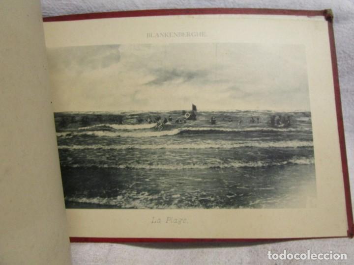 Postales: BELGICA POSTALES BLOCK - ANVERS OSTENDE BLANKENBERGHE 23X15CM. 12 PLANCHAS, HACIA 1900 +INFO - Foto 7 - 194529755