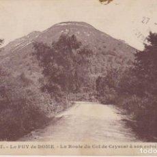 Postales: FRANCIA LE PUY DE DOME VISTA PANORAMICA 1927 POSTAL CIRCULADA. Lote 194564697