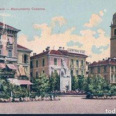 Postales: POSTAL ITALIA - LAGO MAGGIORE - MONUMENTO CADORNA - STABILIMENTO CAMPASSI & DIENA. Lote 194566951