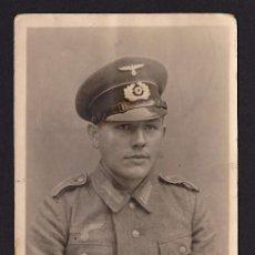 Postales: POSTAL SOLDADO 2ª GUERRA MUNDIAL OFICIAL ALEMAN. Lote 194568176