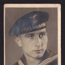 Postales: POSTAL SOLDADO 2ª GUERRA MUNDIAL SOLDADO KRIEGSMARINE. Lote 194569585