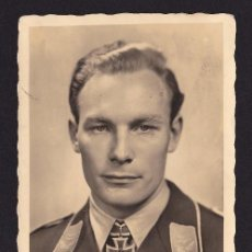 Postales: POSTAL 2ª GUERRA MUNDIAL OFICIAL LUGARTENIENTE BAUMBACH ( AVIACION ). Lote 194571050