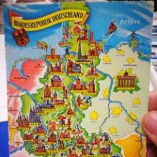 Postales: POSTAL BUNDESREPUBLIK DEUTSCHLAND - KRUGER 916/61. Lote 194577847