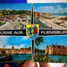 Postales: POSTAL GRUSSE SUS FLENSBURG - KRUGER 706/25. Lote 194622537
