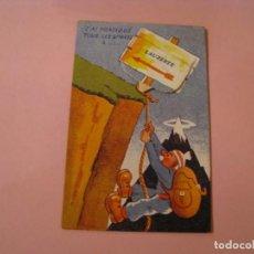 Postales: POSTAL DE FRANCIA. LAUZERTE. CON COMPARTIMIENTO DE PUBLICIDAD 10 IMAGENES.. Lote 194622631