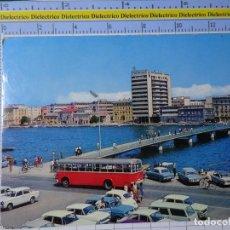 Postales: POSTAL DE YUGOSLAVIA. ZADAR CROACIA. AUTOBÚS COCHES. 2338. Lote 194643200