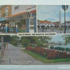 Postales: POSTAL DE VILA REAL DE SANTO ANTONIO ( PORTUGAL ). Lote 194648066