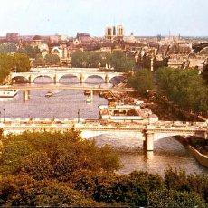 Postales: PARÍS. 925 VISTA GENERAL. PUENTES. NUEVA. COLOR. Lote 194663236
