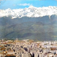 Postales: GRENOBLE. 38133 VISTA GENERAL Y CADENA DE BELLEDONNE. USADAA. COLOR. Lote 194663256