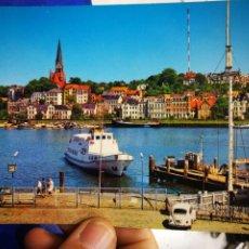 Postales: POSTAL FLENSBURG FORDEBRUCKE ANDRES AND CO.. Lote 194710267