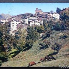 Postales: ANDORRA, ANYOS, POSTAL CIRCULADA CON BONITO MATASELLOS DEL AÑO 1977. Lote 194722652