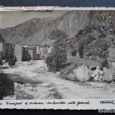 Postales: ANDORRA, LES ESCALDES POSTAL CIRCULADA DEL AÑO 1945, VER FOTO REVERSO. Lote 194722826