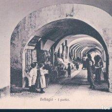 Postales: POSTAL ITALIA - BELLAGIO - PORTICI - BRUNNER & C. Lote 194752093
