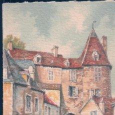 Postales: POSTAL CHATEAUROUX - LA VIEILLE PRISON - ILUSTRADA BARDAY - FRANCIA. Lote 194755037
