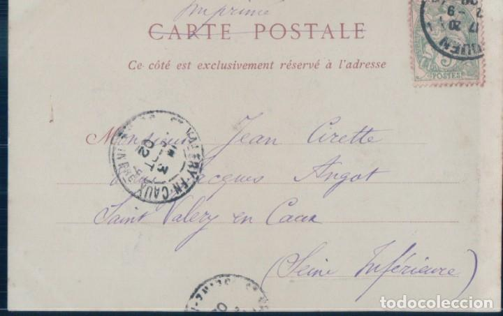 Postales: POSTAL ENVIRONS DE ROUEN - VAL DE LA HAYE - COLONNE COMMEMORATIVE DU RETOUR DES CENDRES DE NAPOLEON - Foto 2 - 194756792