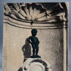 Postales: POSTAL BRUXELLES BRUSELAS BÉLGICA LA FONTAINE DU MANNEKEN PIS ND SIN CIRCULAR. Lote 194780952