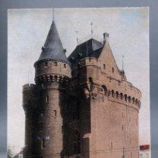 Postales: POSTAL BRUXELLES BRUSELAS BÉLGICA LA PORTE DE HALL ND PHOT SIN CIRCULAR HACIA 1910. Lote 194781651