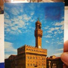 Postales: POSTAL FIRENCE ITALIA PALAZZO VECCHIO PIAZA DELLA SIGNORIA 1971 ESCRITA Y SELLADA. Lote 194783013