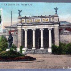 Postales: POSTAL GAND GANTE GENT BÉLGICA MUSÉE DES BEAUX ARTS INNOVATION CIRCULADA SELLO 1911. Lote 194789515