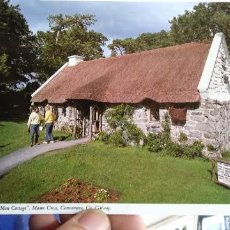 Postales: POSTAL IRLANDA QUIET MAN COTTAGE MAAN CROSS CONNEMARA CO. GALWAY. Lote 194880307