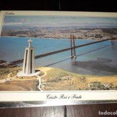 Postales: Nº 36077 POSTAL PORTUGAL LISBOA CRISTO REI E PONTE. Lote 194990020