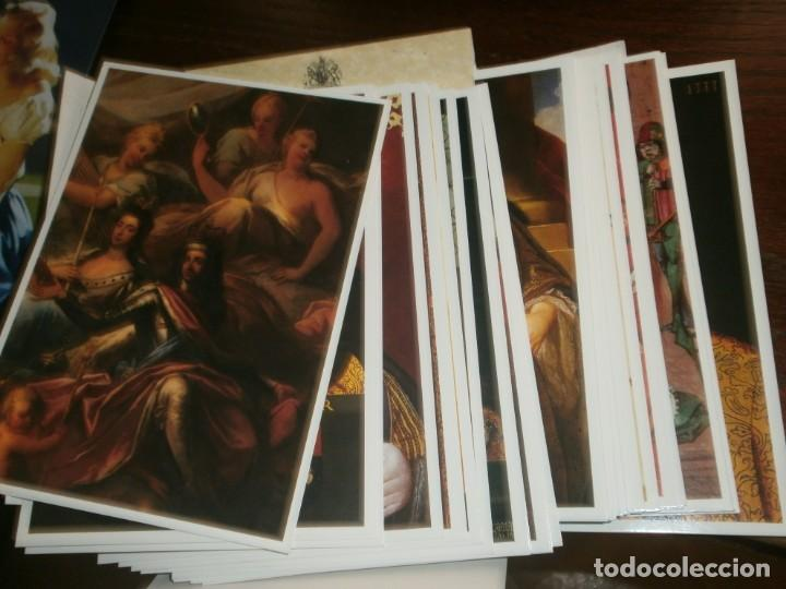 Postales: POSTCARD Folder Pack of 40 Cards THE LINE OF MONARCHS FROM 1066 Tower of London - Foto 3 - 195005671