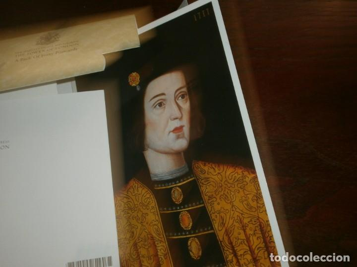 Postales: POSTCARD Folder Pack of 40 Cards THE LINE OF MONARCHS FROM 1066 Tower of London - Foto 5 - 195005671