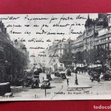 Postales: PARIS-PRINCIPIOS DE SIGLO-CON SELLO Y TIMBRE-EN CATALAN. Lote 195027780