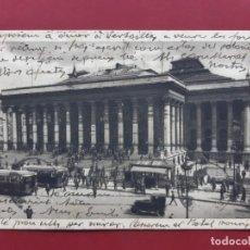 Postales: PARIS-PRINCIPIOS DE SIGLO-CON SELLO Y TIMBRE-EN CATALAN. Lote 195028000