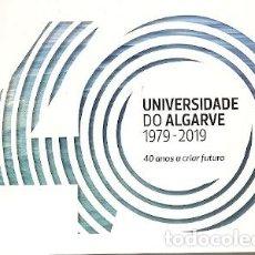 Postales: PORTUGAL ** & I.P 40 AÑOS DE LA UNIVERSIDAD DEL ALGARVE 1979-2019 (2678). Lote 195033320