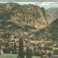 Postales: C1.- ANDORRA - VISTA PANORAMICA DE LAS ESCALDAS- LA MARAVILLA SEO DE URGEL. Lote 195077060