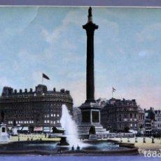 Postales: POSTAL LONDON LONDRES TRAFALGAR SQUARE E1229 SIN CIRCULAR HACIA 1900. Lote 195083463