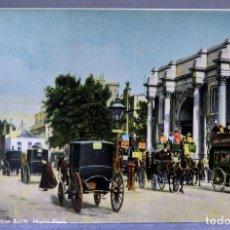 Postales: POSTAL LONDON LONDRES MARBLE ARCH ANIMADA CARRUAJES E1229 SIN CIRCULAR HACIA 1900. Lote 195083565