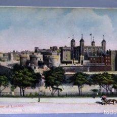 Postales: POSTAL LONDON LONDRES THE TOWER OF LONDON E1229 SIN CIRCULAR HACIA 1900. Lote 195084572