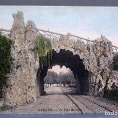 Postales: POSTAL BRUXELLES BRUSELAS LAEKEN BÉLGICA LE PONT RUSTIQUE ND PHOT SIN CIRCULAR. Lote 195084896