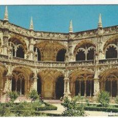 Postales: PORTUGAL .- LISBOA.- CLAUSTRO DO MOSTEIRO DOS JENÓNIMOS.. Lote 195110076
