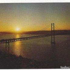 Postales: PORTUGAL .- 1251.- LISBOA.- PONTE 25 DE ABRIL. PÔR DO SOL.. Lote 195110821
