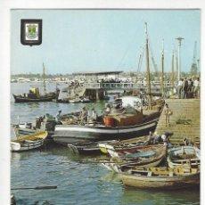 Postales: PORTUGAL.- 57.- PORTIMAO.- DESCARREGANDO O PEIXE.. Lote 195112048